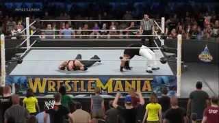WWE 2K15 Undertaker vs Bray Wyatt Wrestlemania 31 Simulation Highlights