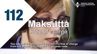Kiireellisissä tilanteissa soita 112 / In an Emergency Call 112