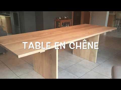 Table en chêne - DIY