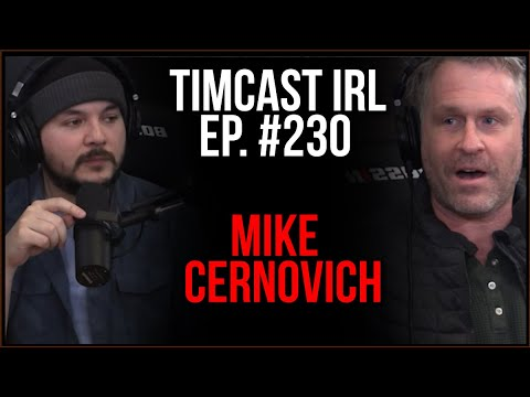 Timcast IRL - Twitter SUSPENDS Crowder After Claiming PROOF Of Fake Voter Addresses w/Mike Cernovich