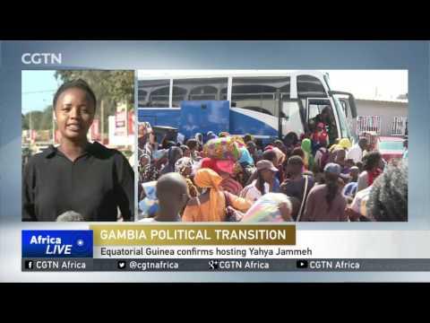 Equatorial Guinea confirms hosting Yahya Jammeh