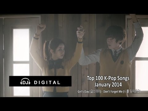 Top 100 K-Pop For January 2014 (Month End Chart)