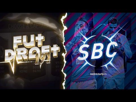 FUT DRAFT 191 Y SBC CHAMPIONS LEAGUE !!
