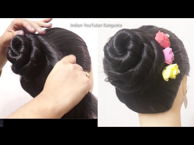 Party Juda Hairstyle Hair Style Girl Juda Hairstyle Wedding