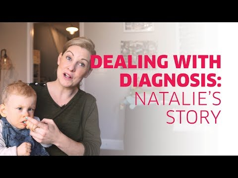 Dealing with a visual impairment diagnosis: Nathalie's story