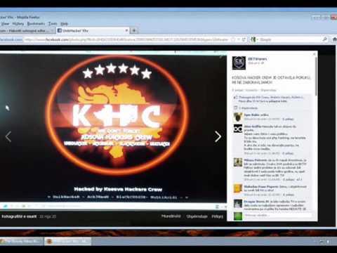 Sulmet e Kosova Hackers Crew (2012)