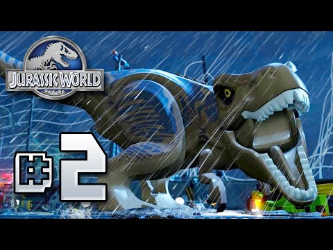 LEGO REX!! Jurassic World LEGO Game - Ep2