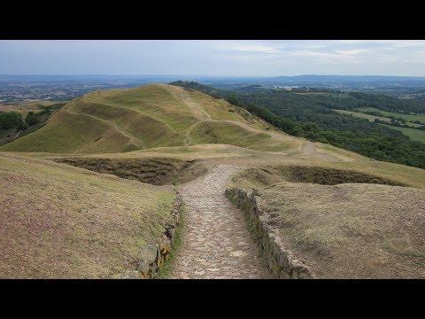 British Camp Malvern Hill Walking Scenery - Herefordshire Walks - Tour England Walking Holidays UK