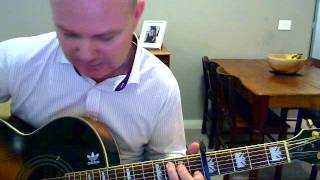 Acoustic guitar tutorial for Simon & Garfunkel - Scarborough Fair.