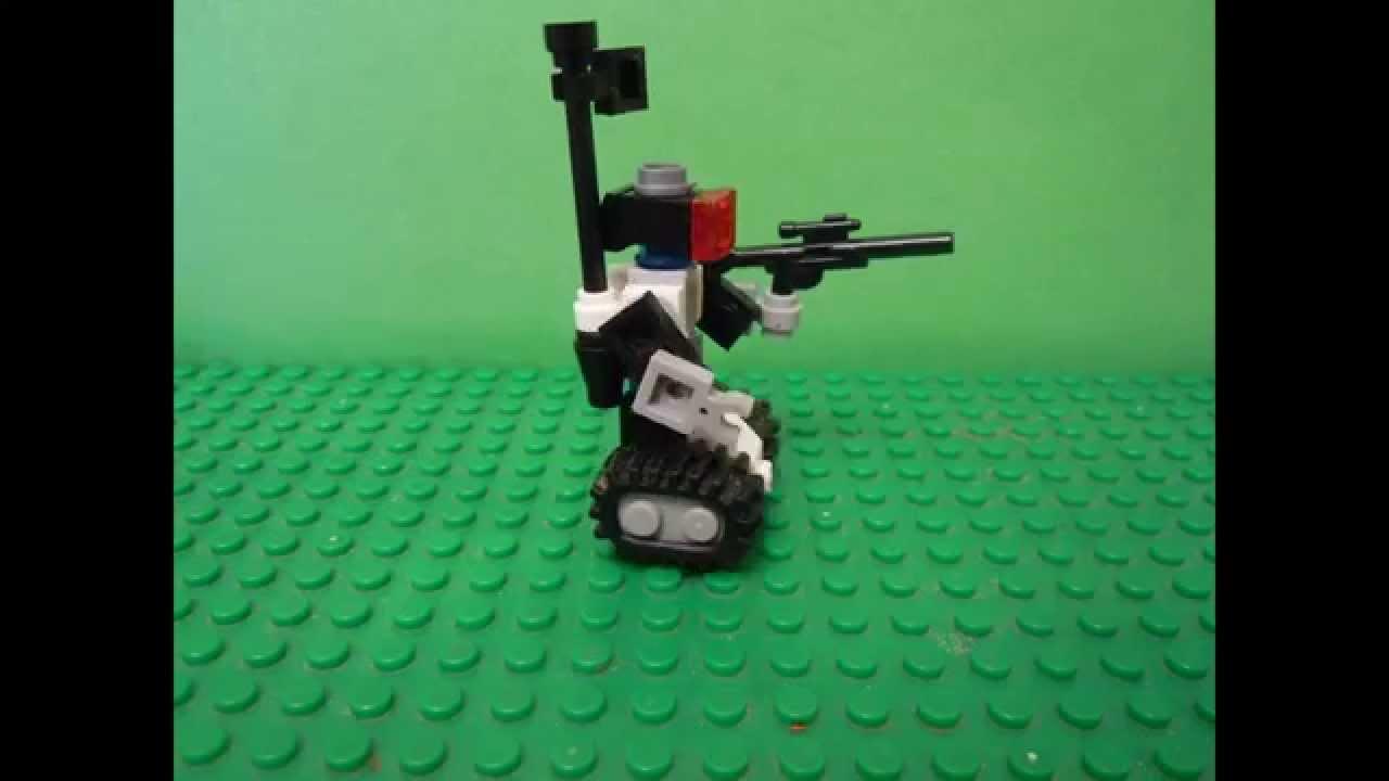 Lego мини роботы инструкция. Сборка лего 4917.