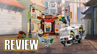 Persecución en Ciudad de Ninjago (70607) - The LEGO Ninjago Movie