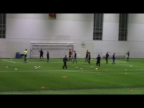 Whitecaps NS Academy Warm up & Discovery Game - Switching the Play - Led by Mike Ayyash