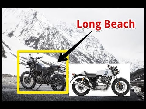 Royal Enfield Showcases Three New Motorcycles For North America At Long Beach