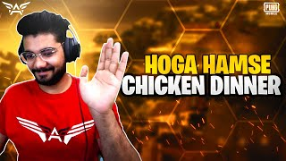 🔴PUBG MOBILE LIVE : HOGA HOGA CHICKEN DINNER THAMBA! 😝|| H¥DRA | Alpha!😋