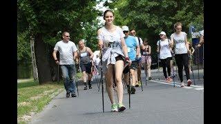 Nordic Walking w ramach festynu na osiedlu Stacja