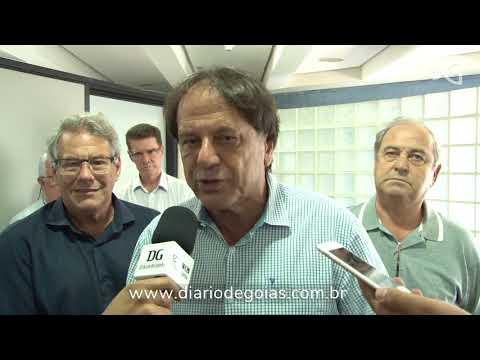 Prefeitos e lideranças do MDB visitam Iris Rezende e discutem alianças políticas para 2018