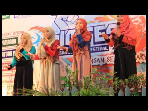 Iskiyya Nasyid - I'm Proud Of You Moslem ( Cover Version ) MAN IC Siak  | Riau | Indonesia