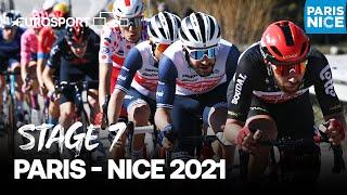 Paris - Nice 2021 - Stage 7 Highlights | Cycling | Eurosport