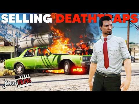 SELLING CRAZY BROKEN CARS! | PGN # 261 | GTA 5 Roleplay