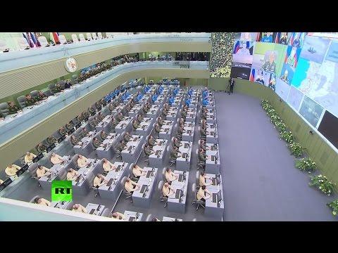 Минобороны доложило Владимиру Путину о ходе операции РФ в Сирии