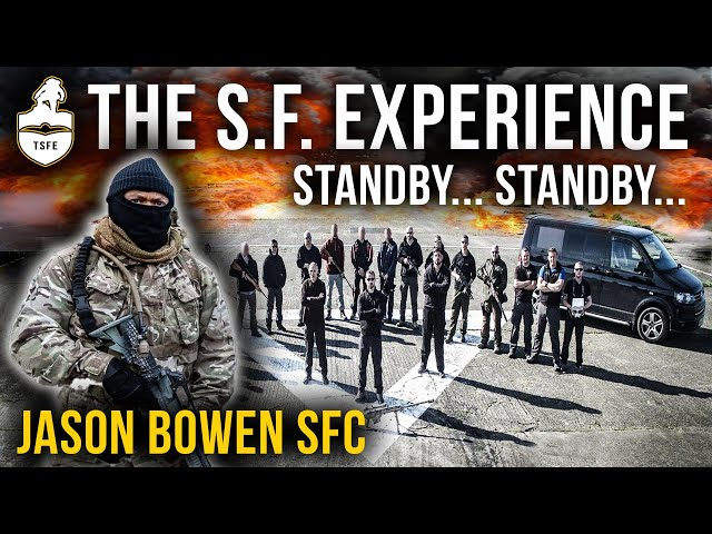The SPECIAL FORCES Experience | Jason Bowen SFC | SAS & SAS Selection Fan Dance | Escape & Evasion
