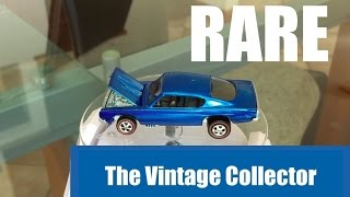 Super RARE 1968 HOT WHEELS Custom Barracuda (Redlines)