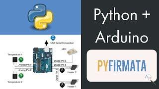 Python 🐍 + Arduino UNO with pyFirmata