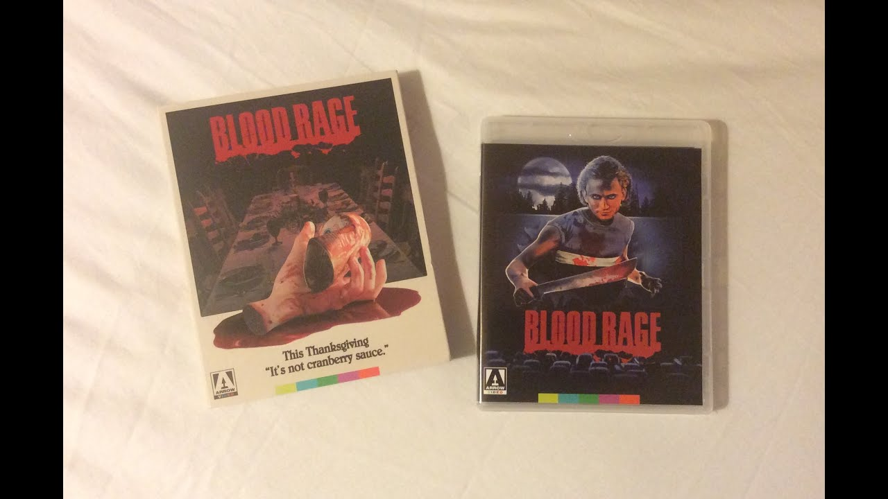 Download Blood Rage - Arrow Video (1987) Blu Ray Unboxing Review