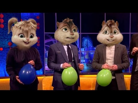 Famous People on Helium Compilation (Real Chipmunk Voice) part 1