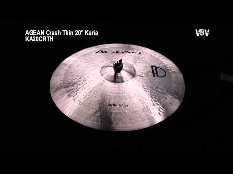 "20"" Crash Thin Karia video"