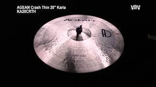 "20"" Crash Thin Karia video"