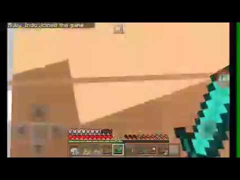 Minecraft indo mining cari diamond