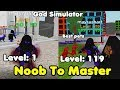 Noob To Master! Level 100! Unlocked All Areas & All Abilities! - God Simulator