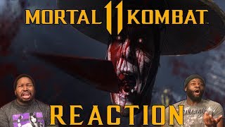 MORTAL KOMBAT 11 TRAILER REACTION - Fatalities, Double Scorpions and More!