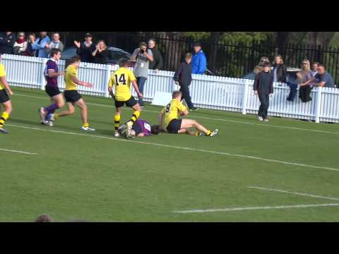 first try, Scots v Joeys 1stXV, 2015 GPS rugby r2