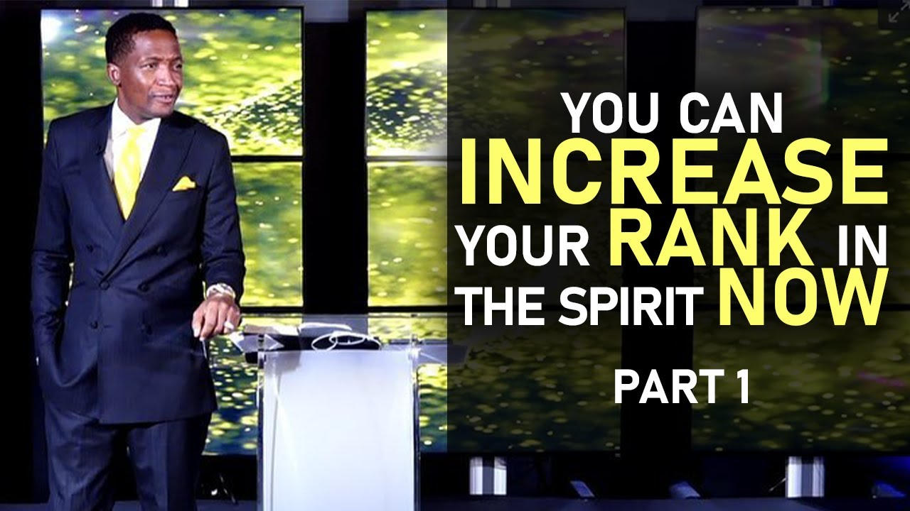 Download You Can Increase Your Rank In The Spirit Now - Prophet Uebert Angel