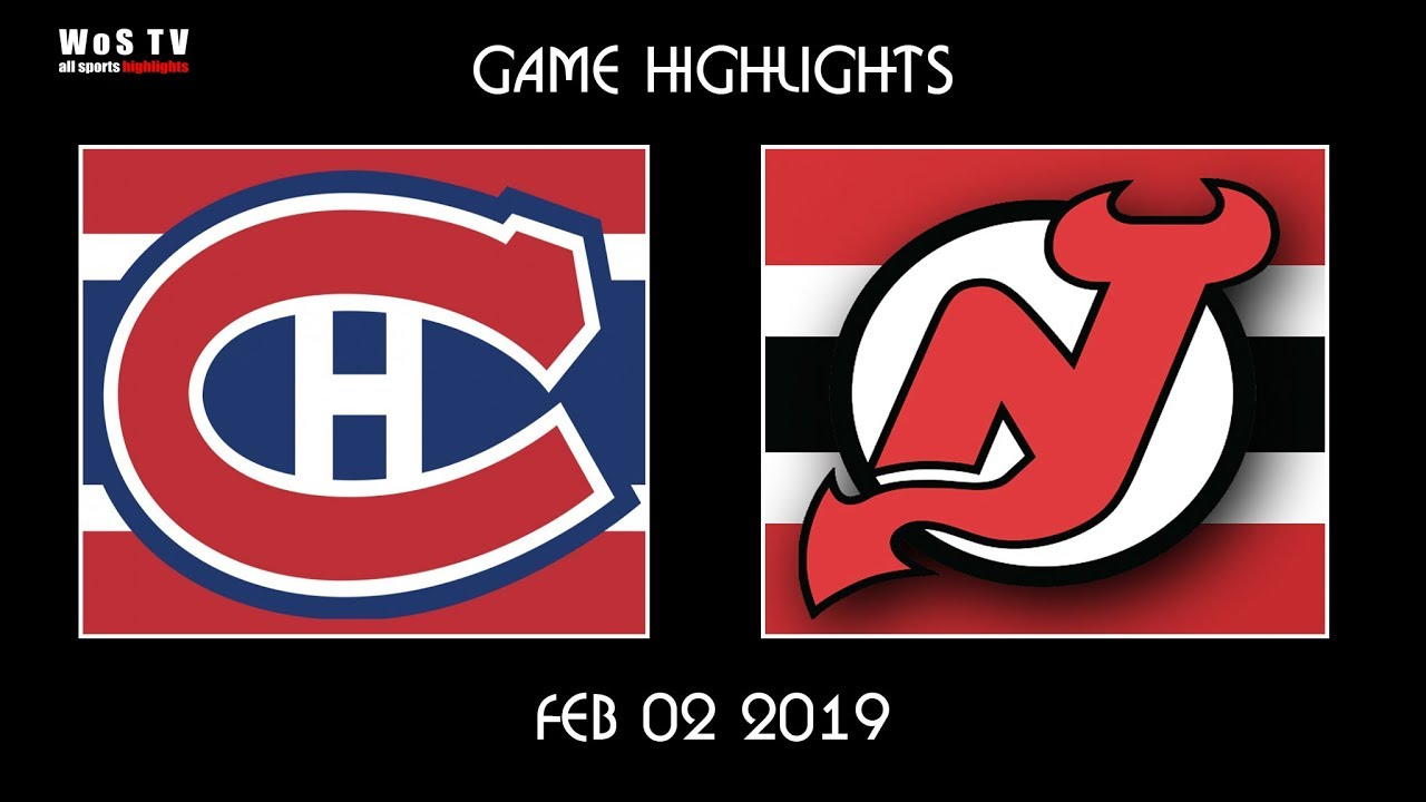 18863653b NHL Highlights New Jersey Devils vs Montreal Canadiens Feb 2