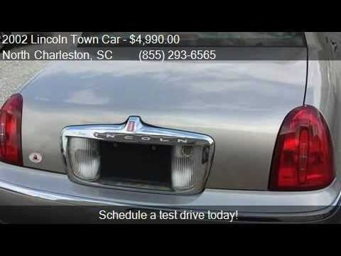 2002 Lincoln Town Car Signature 4dr Sedan For Sale In North Youtube