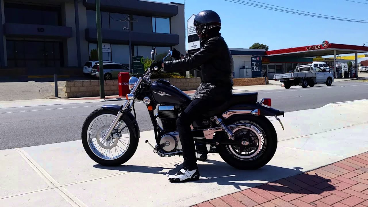 2015 suzuki boulevard s40 first ride on a cruiser ever youtube