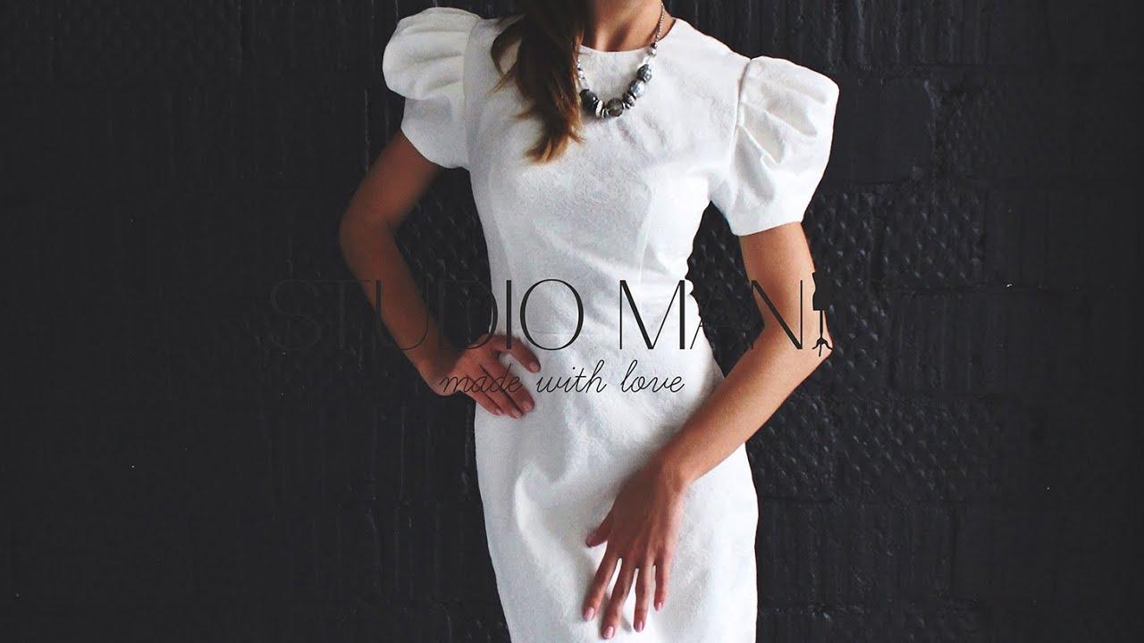 Как сшить пышные рукава для платья