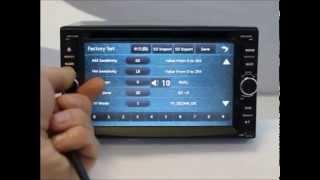 видео 2 din автомагнитолы с Gps и их обзор
