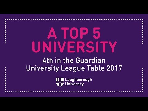 Loughborough University Ranks 4th in the Guardian University Guide
