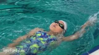 Training for the Olympic Swim Team | 9 years old Tiara Kim | TigerFamilyLife~