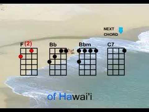 White Sandy Beach Play Along Karaoke Style Youtube