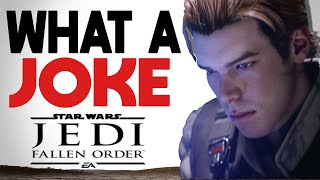 "The Jedi Fallen Order ""Problem"" Came QUICK"