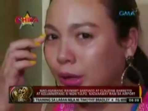 Claudine Barreto Raymart Santiago VS Mon Tulfo with GMA news interview more fun in PH