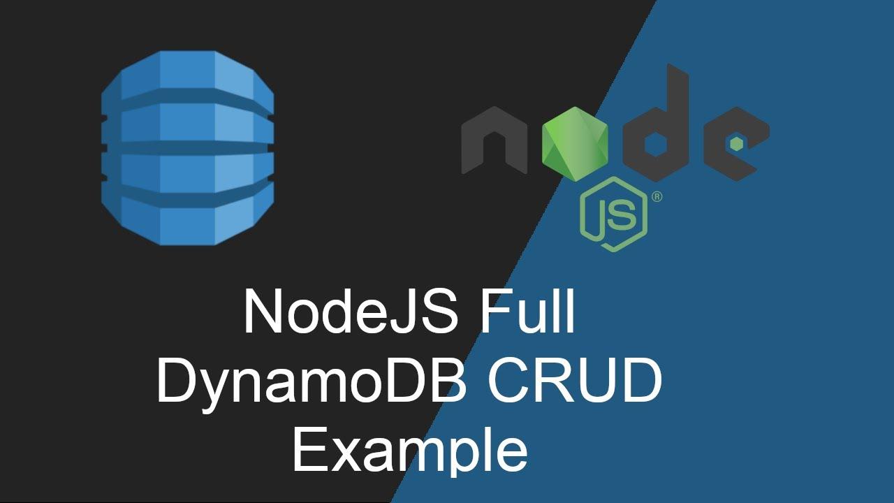 DynamoDB NodeJS CRUD Example using NestJS