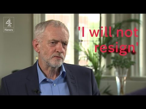 Jeremy Corbyn: 'I want to be Prime Minister'