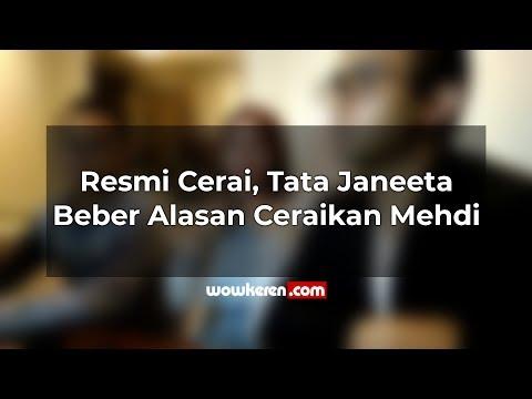 Resmi Cerai, Tata Janeeta Beber Alasan Ceraikan Mehdi