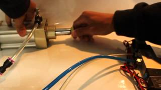 Two and Three-Position Double Solenoid Valve Demonstration